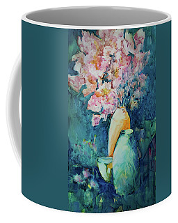 The Orange Vase Coffee Mug