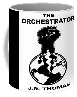 Coffee Mug featuring the digital art The Orchestrator Cover by Jayvon Thomas