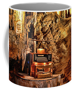 The Organ In Luray Caverns Coffee Mug by Paul Ward