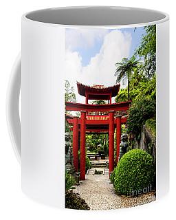 The Oriental Gate To Happiness Coffee Mug