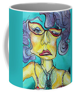 The Other Side Of Her Coffee Mug