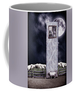 The Outsider Coffee Mug by Mihaela Pater