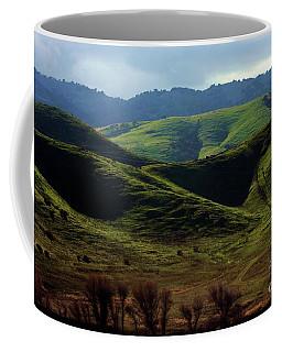 The Outskirts Of San Luis Reservoir, California Coffee Mug