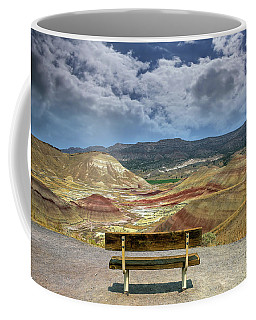 The Overlook At Painted Hills In Oregon Coffee Mug