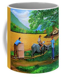 The Package Coffee Mug by Lorna Maza