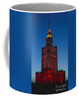 The Palace Of Culture And Science  Coffee Mug