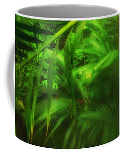 Coffee Mug featuring the photograph The Palm Forest  by Connie Handscomb