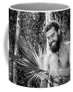 The Palm Frond Weaver Coffee Mug by Marius Sipa