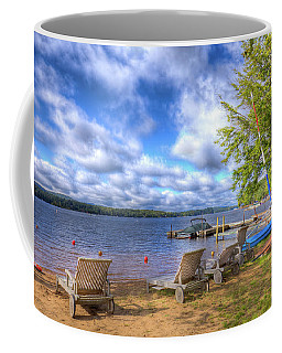 Coffee Mug featuring the photograph The Palmer Point Beach by David Patterson