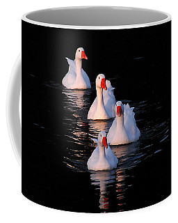 Coffee Mug featuring the photograph The Parade by Howard Bagley