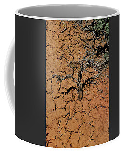 Coffee Mug featuring the photograph The Parched Earth by Ron Cline