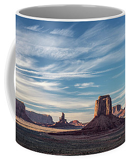 Coffee Mug featuring the photograph The Past by Jon Glaser