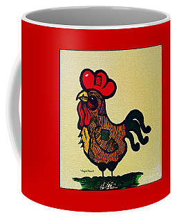 The  Patchwork  Rooster  Coffee Mug