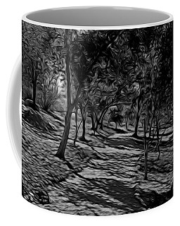 The Path In Abstract Coffee Mug