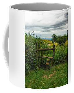 Coffee Mug featuring the photograph The Path Most Traveled  by Connie Handscomb