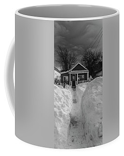 Coffee Mug featuring the photograph The Path To The Door by David Pantuso