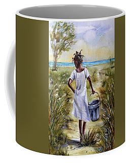 The Path To The Sea Coffee Mug