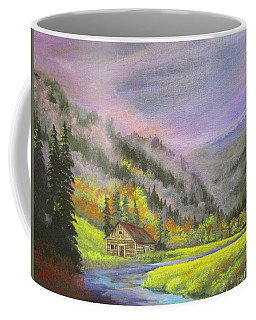 The Peaceful Hills Coffee Mug