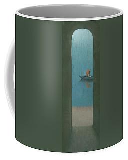 The Peach Parasol Coffee Mug by Steve Mitchell