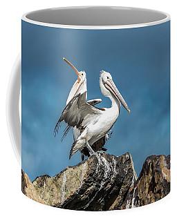 The Pelicans Coffee Mug by Racheal Christian