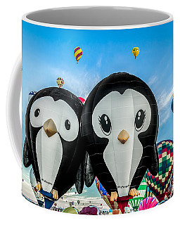 Puddles And Splash - The Penguin Hot Air Balloons Coffee Mug