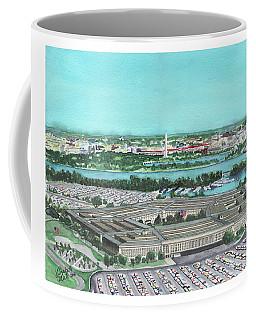 The Pentagon Coffee Mug