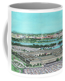 The Pentagon Coffee Mug