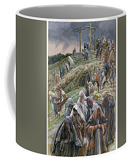 The People Beholding The Things That Were Done Smote Their Breasts Coffee Mug