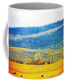 The Perfect Day In Autumn Coffee Mug by Lenore Senior