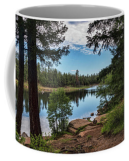 Coffee Mug featuring the photograph The Perfect Fishing Spot  by Saija Lehtonen