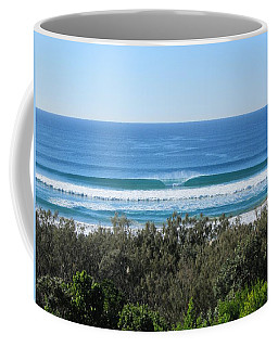 The Perfect Wave Sunrise Beach Queensland Australia Coffee Mug