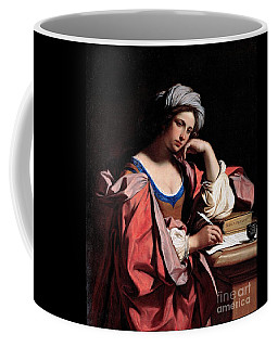 Coffee Mug featuring the painting The Persian Sibyl by Pg Reproductions