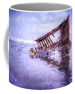 A Stormy Peter Iredale Coffee Mug