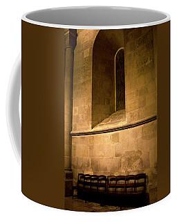 Coffee Mug featuring the photograph The Pew by Lorraine Devon Wilke