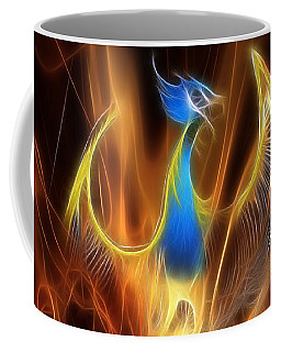 The Phoenix Rises From The Ashes Coffee Mug
