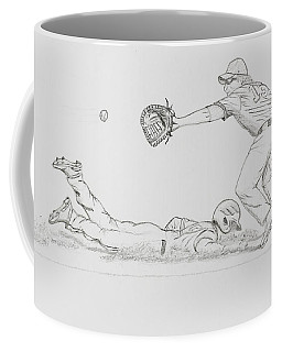 The Pick Off  Coffee Mug by Chris Thomas