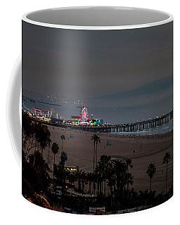 The Pier After Dark Coffee Mug