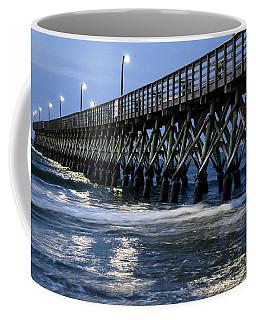 The Pier At The Break Of Dawn Coffee Mug