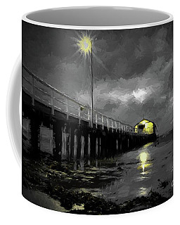 The Pier On The Bay Coffee Mug