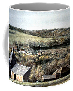 The Pilgrims Way Coffee Mug by Rosemary Colyer