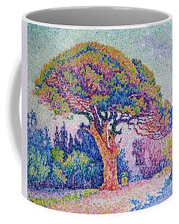 The Pine Tree At Saint Tropez Coffee Mug