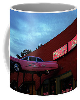 The Pink Cadillac Diner Coffee Mug