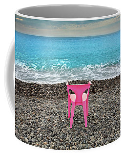 The Pink Chair Coffee Mug