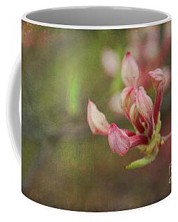 The Pink Claw, Textured - Georgia Coffee Mug