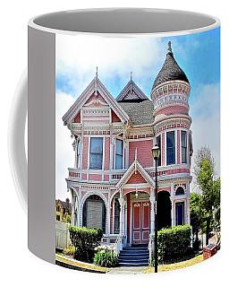 The Pink Gingerbread House In Eureka Coffee Mug