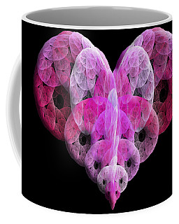 The Pink Heart Coffee Mug by Andee Design