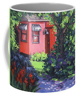 The Pink House Coffee Mug