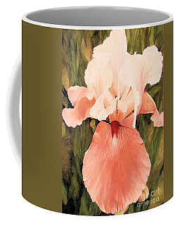 Coffee Mug featuring the painting The Pink Lady  by Laurie Rohner