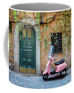 The Pink Vespa Coffee Mug