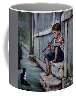 The Piper Coffee Mug by Judy Kirouac